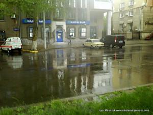 Советская после дождя