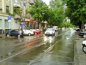 Потёмкинская после дождя