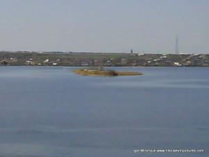Остров Константиновская батарея. С Широкой Балки