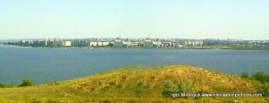Вид на Намыв с противоположной стороны.