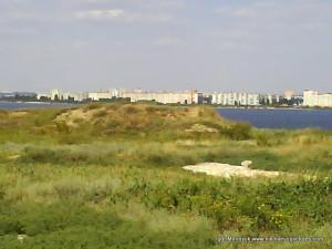 На том берегу - Намыв.
