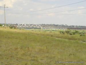 И снова железнодорожный мост.