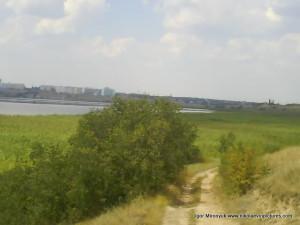 Вид на Северный, Порожнечу, реку, камыши