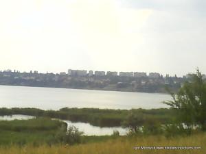Акватории с видом на Ингул, Порожнечу, Северный.